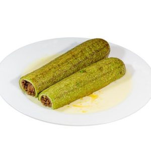 Courgettes with meat – 400g