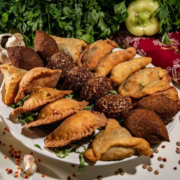 Meniu libanez aperitiv cald