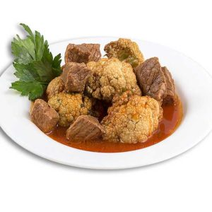 Cauliflower with Beef 350G