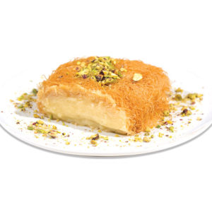 KATAIF with vanilla and pistachio cream 120g