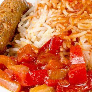 Meniu Kebab Picant Cu Orez Libanez 350 g