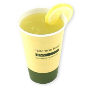 Lebanese lemonade with mint