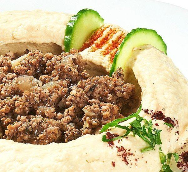 Hommos cu Carne – 250 g – aperitiv rece