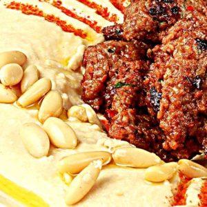 Hommus cu carne si muguri de pin – 260g