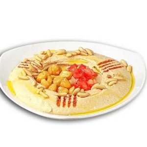 Hummus with pine nuts – 210g