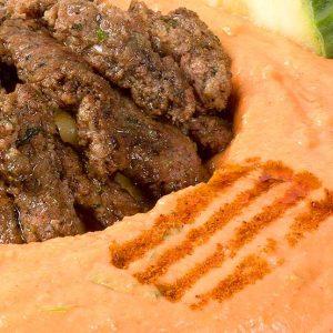Hommus Beiruty cu carne – 260g – aperitiv rece