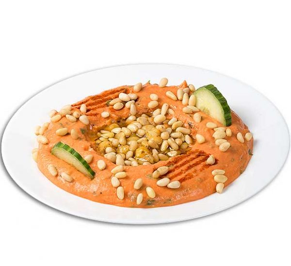 Hommus Beiruty cu muguri de pin – 220g – aperitiv rece